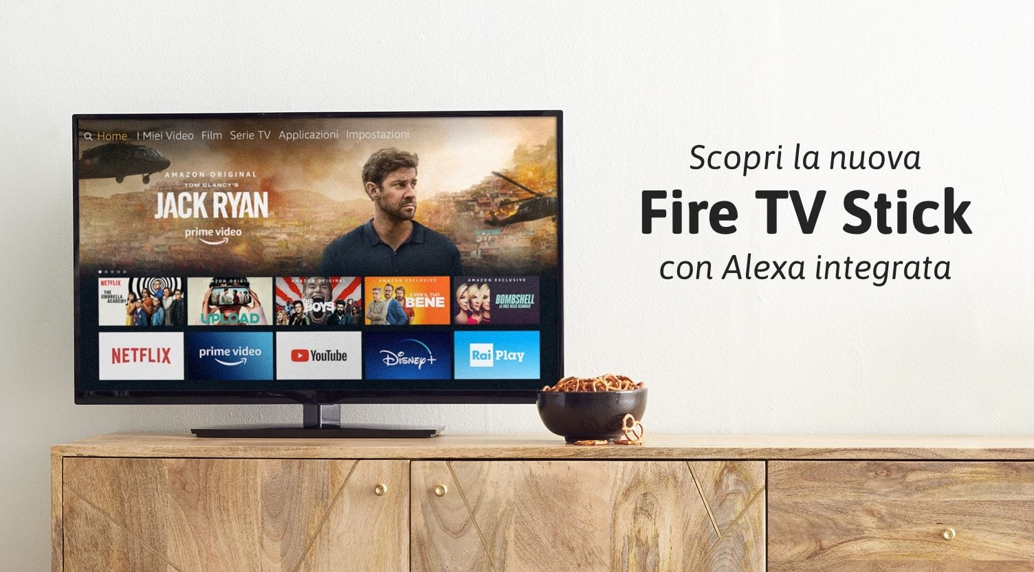nuova fire tv stick di amazon