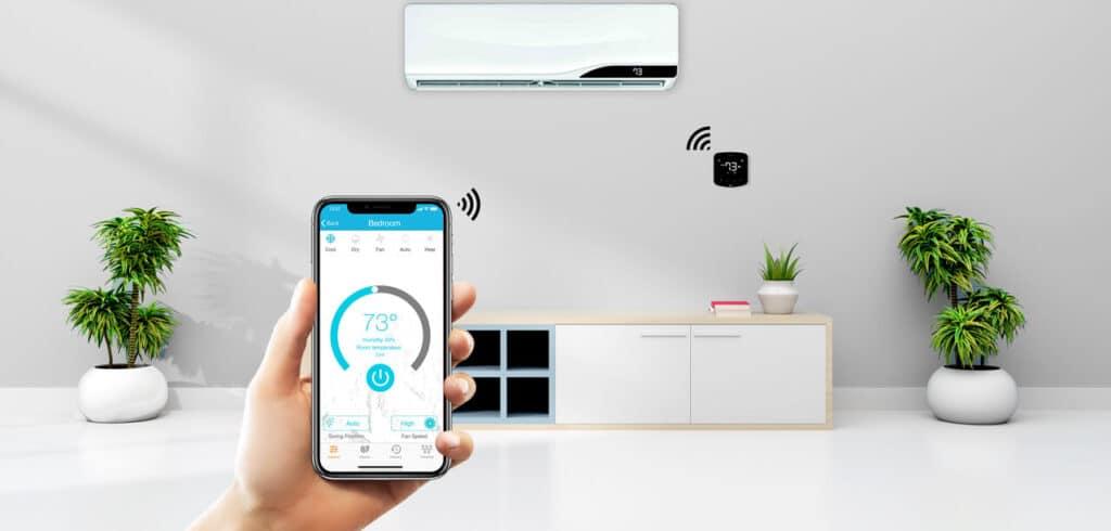 Controllare il climatizzatore da remoto e con il WiFI
