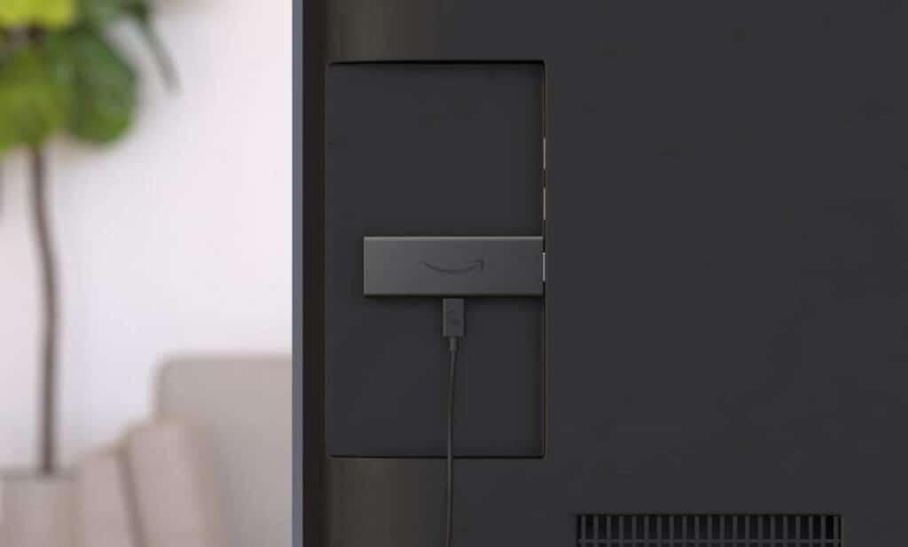 fire tv stick collegata nella tv