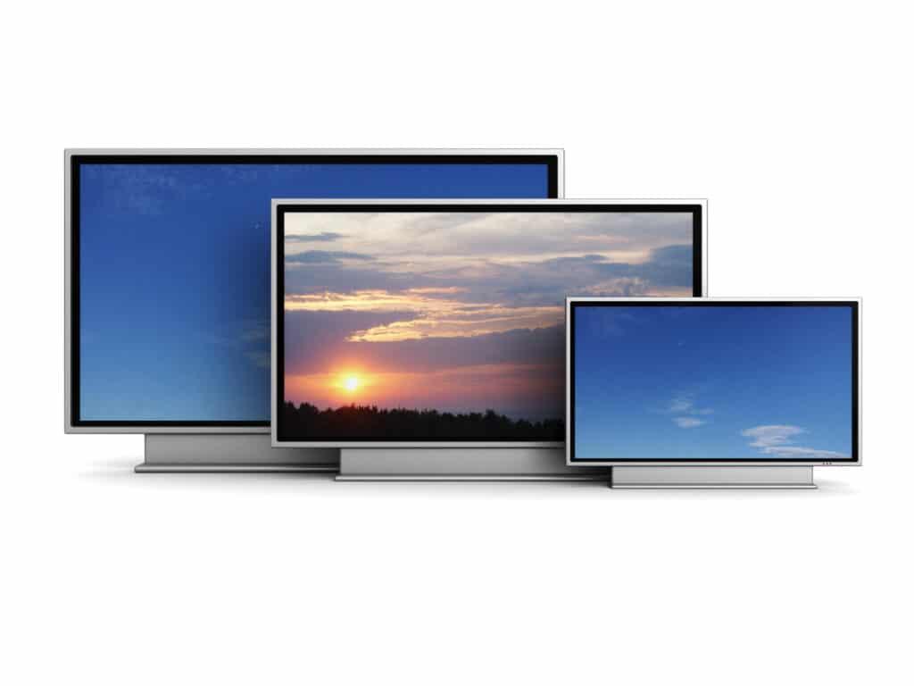 dimensioni tv