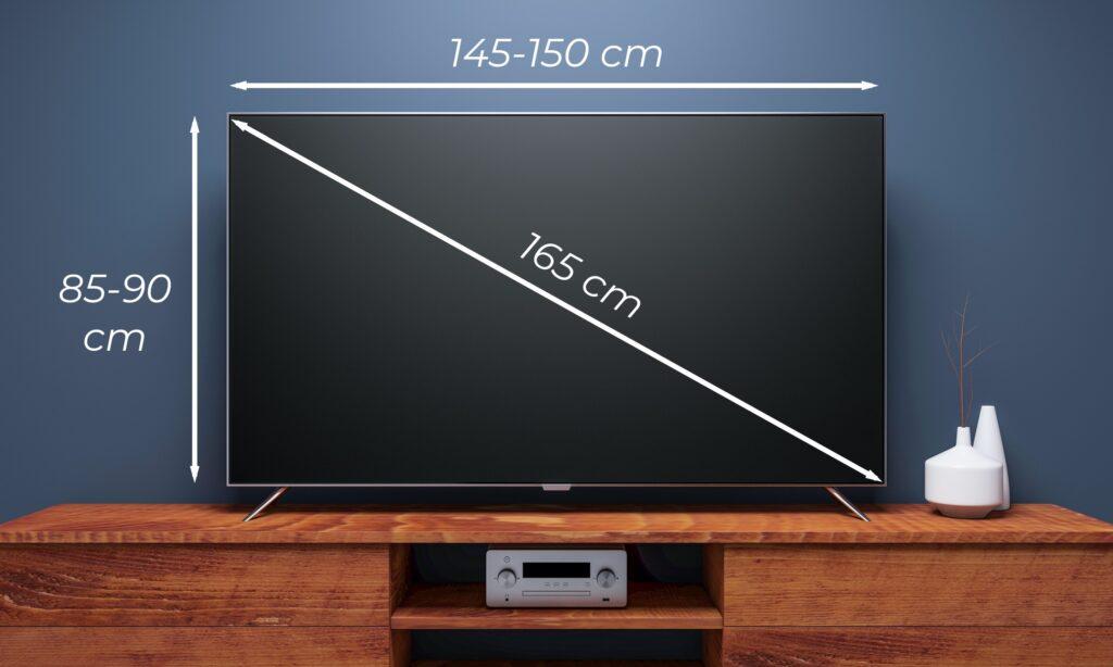 dimensioni televisori