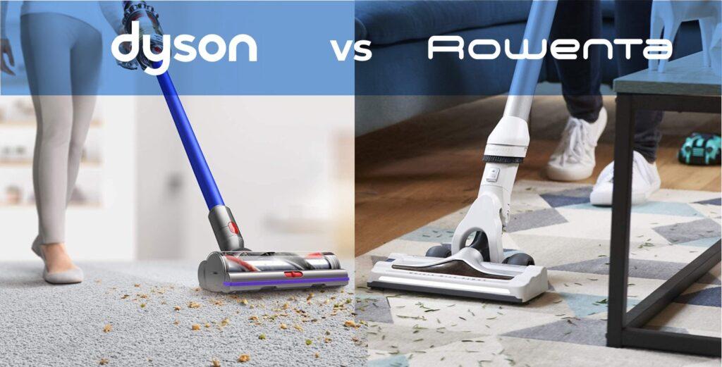 Dyson vs Rowenta: Qual è il miglior aspirapolvere senza fili?
