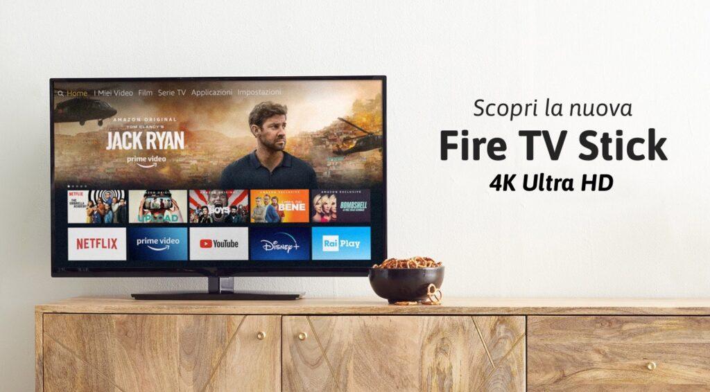 Recensione Fire TV Stick 4K Ultra HD