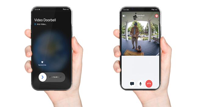 app arlo video doorbell