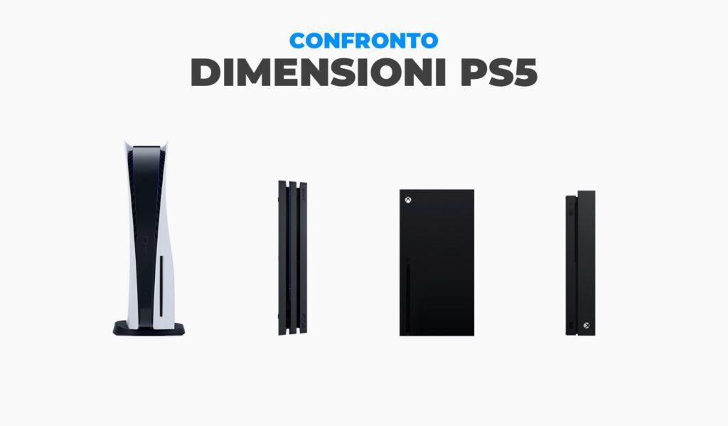 Dimensioni PS5: Confronto tra console Sony e Xbox