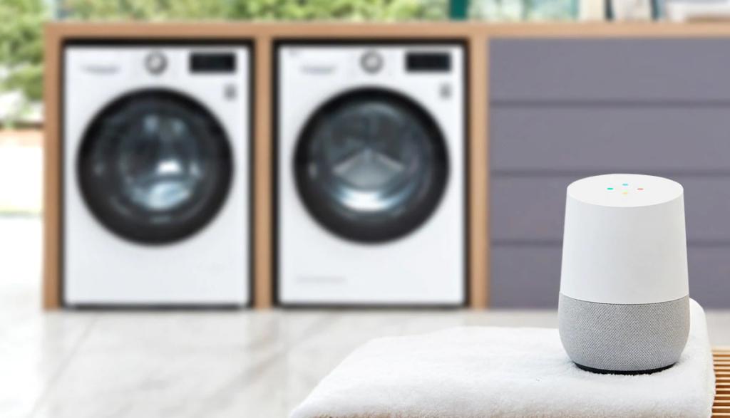 LG lavatrice compatibile con google home e assistant