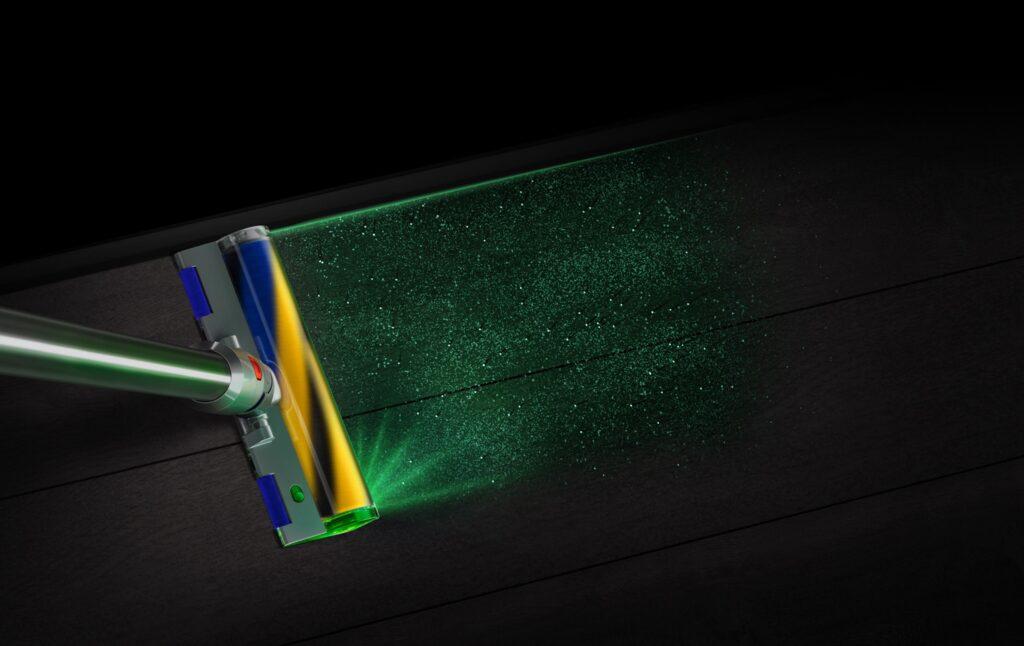 dyson v15 recensione aspirapolvere laser