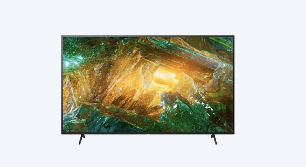 design tv sony 4k 55 pollici serie XH80