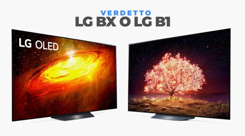 meglio lg bx o lg b1